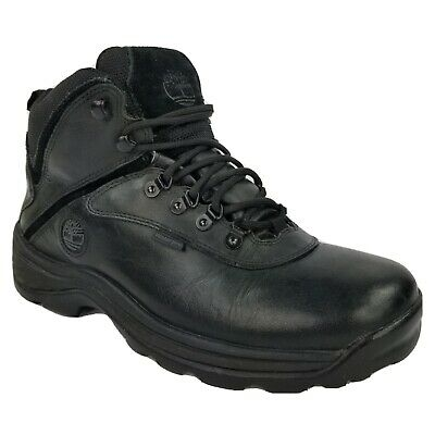 £53.75 • Buy Timberland Mens White Ledge Mid Waterproof Hiking Boots Sz 10 Black Leather12122