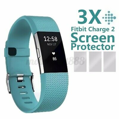 AU1.69 • Buy 3X For Fitbit Charge 2 Compact TPU Hardness Anti-Fingerprint Screen Protectors