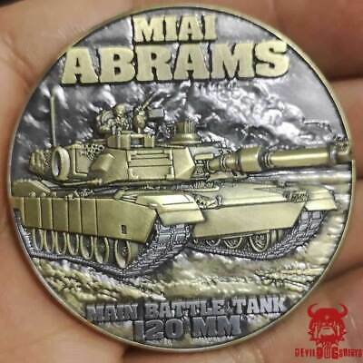 $24.99 • Buy M1A1 Abrams Devil Dogs Of Desert Storm Challenge Coin