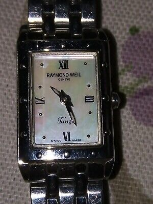 £175 • Buy Raymond Weil Tango Stainless Steel Sapphire Crystal Mother Of Pearl 5971 Watch