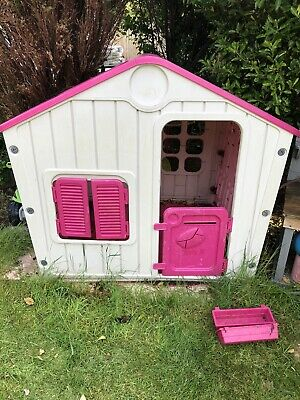 £45 • Buy Pink Childrens Playhouse Wendy House Magical Play House By Starplast