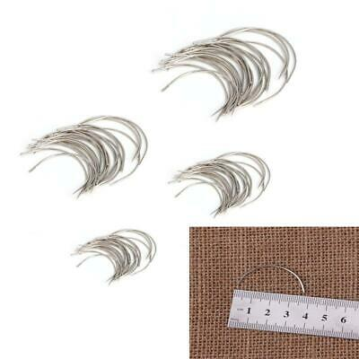 £2.24 • Buy 25pcs/set Curved Mattress Needles Hand Sewing Needle For Upholstery Household