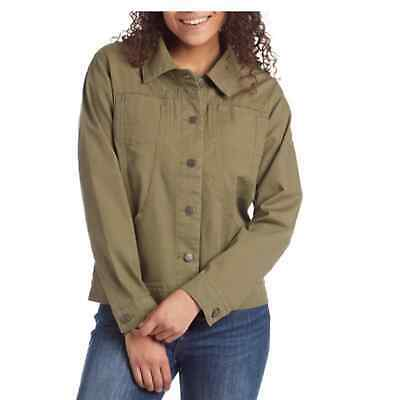 $95 • Buy NWT Patagonia Women's Stand Up Jacket Size Medium Military Green Button Up