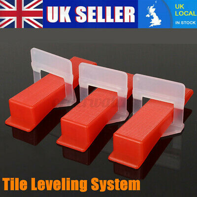 £6.33 • Buy Plastic Tile Leveling System Tools Spacer Flooring Lippage Clip / Wedge /