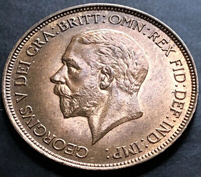 £17.99 • Buy 1936-one Penny Coin-king George V-a/unc-#jb457