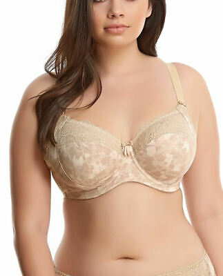 £35.95 • Buy Elomi Morgan Bra Full Cup Banded Stretchy Side Support 4110 Underwired Lingerie