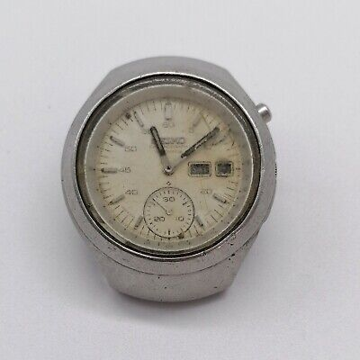 $ CDN146.58 • Buy Vintage Seiko Helmet Chronograph Automatic, For Parts, No Working
