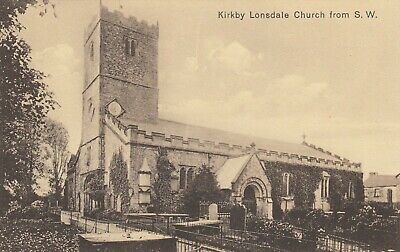 £2.95 • Buy Postcard Kirkby Lonsdale Church From S W [ By T Turner Of Skipton ] MD10D