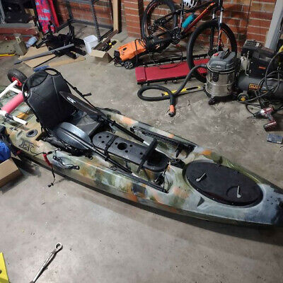 AU650 • Buy 12ft Jet Ocean Fishing Kayak With Fish Finder And Other Accessories.