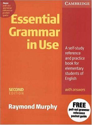 £5.50 • Buy Essential Grammar In Use With Answers : A Self-Study Reference And Practice Book