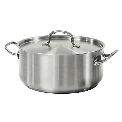 $ CDN60.72 • Buy Pro Line 9 Quart Stainless Steel Lid & Handle Dutch Oven All Cooktops Tramontina