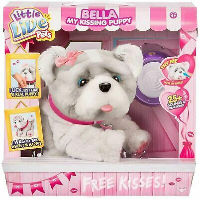 £89.90 • Buy Little Live Pets BELLA My Kissing Puppy Electronic Interactive Dog Toy