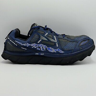 $69.95 • Buy Altra Mens 11.5 M US Lone Peak 3.5 Active Trail Running Shoes Zero Drop In Blue