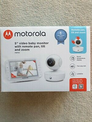 View Details Motorola MBP50 Connect 5inch Video Baby Monitor • 90.00£