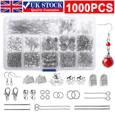 £11.49 • Buy Jewellery Making Tools Set Starter Findings Kit DIY Wire Pliers Ring Necklace UK
