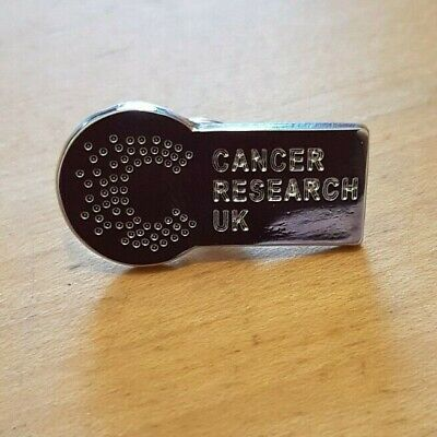 £0.99 • Buy Cancer Research UK Pin Badge.  A009