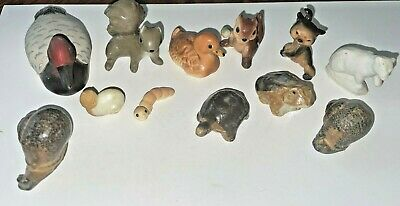 AU12.23 • Buy Lot Of MINI ITEMS For Printers Tray Or Drawer, Variety Animal Figures