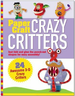 £7.99 • Buy Paper Craft Crazy Critters (Papertoy Models, Origami) By Mary Beth Cryan Book