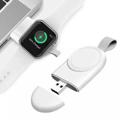 $ CDN10.32 • Buy For Apple Watch Series 5/4/3/2/1 IWatch Portable USB Wireless Charger Keychain