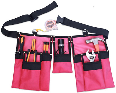 AU38.94 • Buy Garden Tool Belt For Women, Tool Pouch For Gardening And Home Improvement Tool