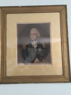 £175 • Buy Admiral Lord Nelson After Lemuel Francis Abbott, Victorian Print, Framed, Signed
