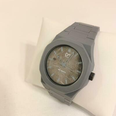 £109.32 • Buy D1 MILANO Gray Marble Collection Watch MB-02 Italian Design [Nearly Unused]
