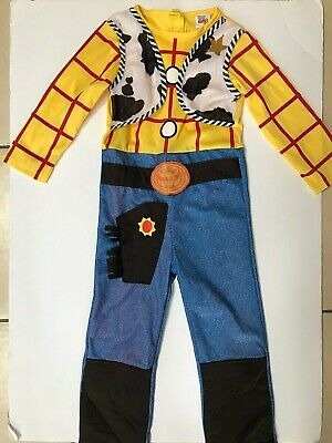 £3.99 • Buy Sheriff Woody Toy Story 3 Disney Pixar Kids Dressing Up Outfit Age 3-4