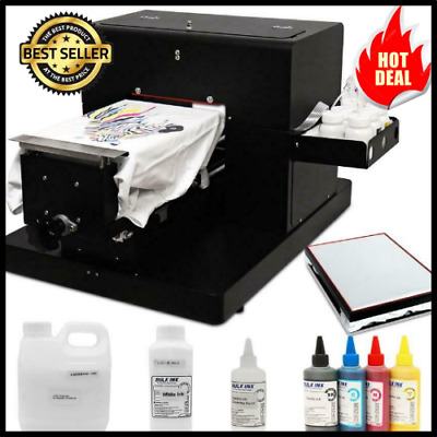 £1946.78 • Buy A4 Flatbed Printer Multicolor A4 Size Dtg T-shirt Printer Directly To Print Dark