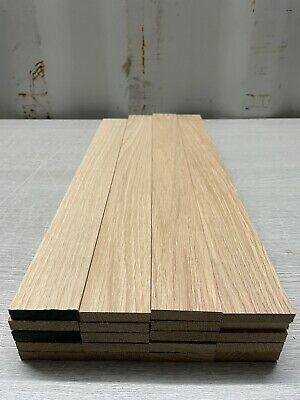 £35 • Buy Oak TImber - Natural Wood- Offcuts - Hardwood 20 Pieces 48mm X 10mm X 400mm Long