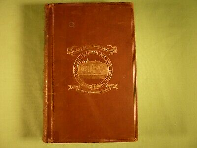 £30 • Buy Homes Without Hands Rev J G Wood 1876 Stockport Grammar School Prize Leather