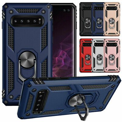 AU10.39 • Buy For Samsung Galaxy Note 9 8 S10 S9 S8 Plus Magentic Stand Case Ring Holder Cover