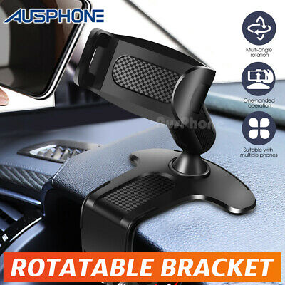 AU14.45 • Buy 360° Universal Clamp Dashboard Mobile Car Smart Phone Holder Mount Stand Cradle