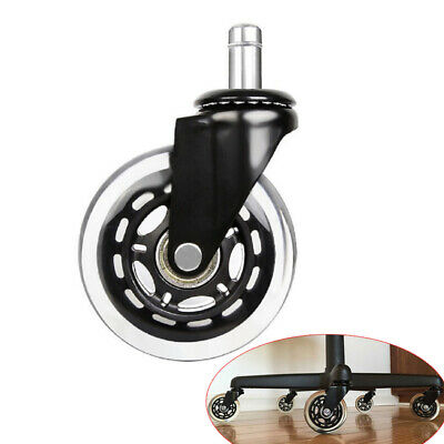 AU13.98 • Buy 2.5/3 Inch Universal Office Chair Wheel Swivel Caster Furniture Rotatable Roller