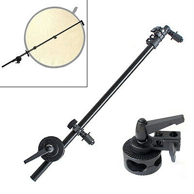 £25 • Buy Reflector Holder Boom Arm Bracket Photography Studio Collapsible Grip Heavy Duty