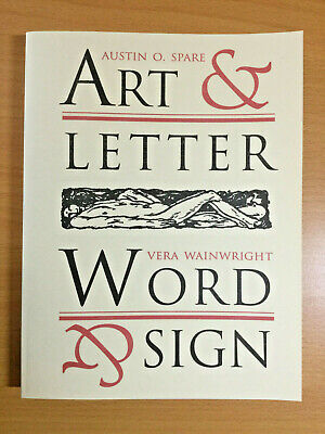 £40 • Buy Art & Letter — Word & Sign Vera Wainwright And Austin Osman Spare — IHO Books