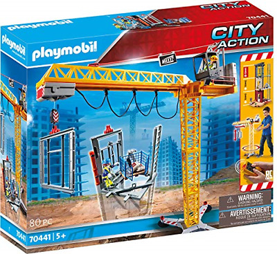 £99.52 • Buy Playmobil 70441 City Action Construction Crane With Remote Control, Incl. Remote