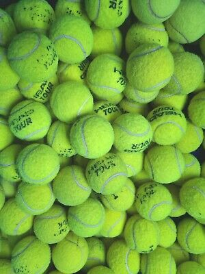 £5.49 • Buy 4 6 8 Or 10 Used Tennis Balls For Dogs. Sanitised Branded Balls. GOOD CONDITION