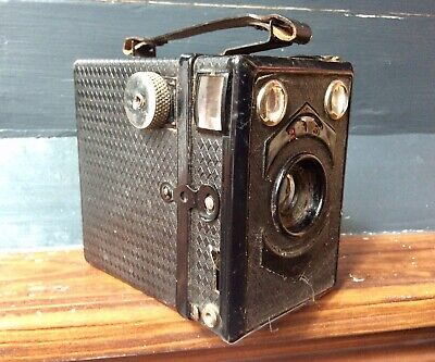 £0.99 • Buy Antique Rare LUMIERE SCOUT BOX Photo Camera,Feature Display,Art Deco,French,Old