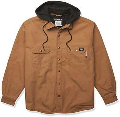 £26.59 • Buy Wolverine Men's Fr Canvas Jacket, Brown, Size X-Large WHbq