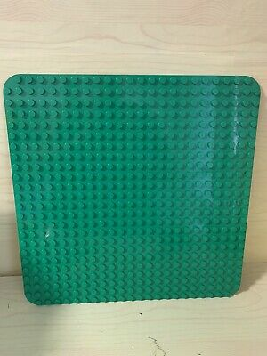 £12.99 • Buy Genuine Lego Duplo Large Base Plate Board 24 X 24 Studs. Green. Good Condition
