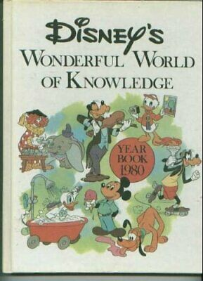 £22.99 • Buy Disney's Wonderful World Of Knowledge (Year Book 1980) Book The Cheap Fast Free