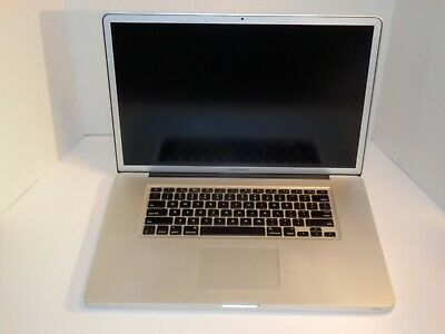$128.61 • Buy Apple MacBook Pro 17-Inch  Core 2 Duo  2.66 Early 2009 - MB604LL/A  For P&R