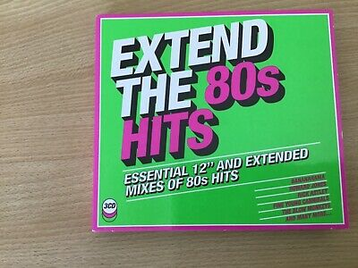"""£1.04 • Buy Extend The 80s Hits 3 Cds 12""""s Howard Jones Madness Shalamar The Real Thing"""