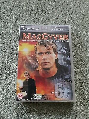 $11.21 • Buy MacGyver - Series 6 - Complete (DVD, 2010, 6-Disc Set, Box Set) New Sealed