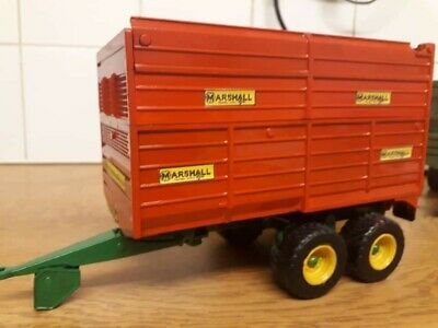 £45 • Buy Rare Britains Conversion Marshall Silage Trailer  For Tractor Siku
