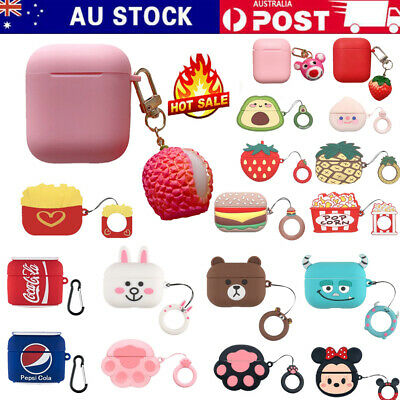 AU10.99 • Buy For Apple AirPods 1/2 Pro Premium Cute Cartoon Silicone Protective Case Cover