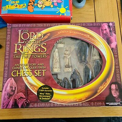 £30 • Buy The Lord Of The Rings The Two Towers Chess Set Complete .