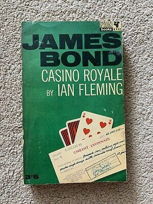 £6 • Buy James Bond Casino Royale By Ian Fleming, 1965, PB, Vintage Pan Books COLLECTABLE