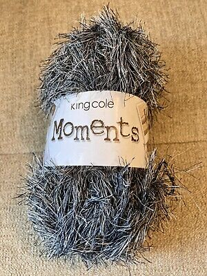 £2.49 • Buy King Cole Moments Yarn Badger 50g 100% Polyester ~90 Metres New