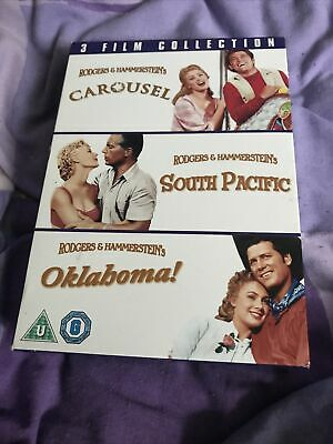 £4.95 • Buy Rodgers & Hammerstein 3 DVD Box Set - Carousel, South Pacific And Oklahoma
